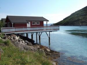 Rorbuene på Vennesund Camping